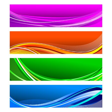 Colorful Banner Stock Vector - 18175285
