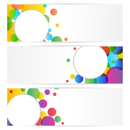 Colorful Banner Stock Vector - 18175403