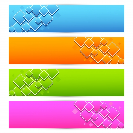 Colorful Banner Stock Vector - 18176389