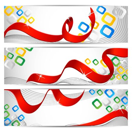 Colorful Banner Stock Vector - 18176388