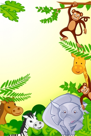 baby monkey: Animals in Jungle