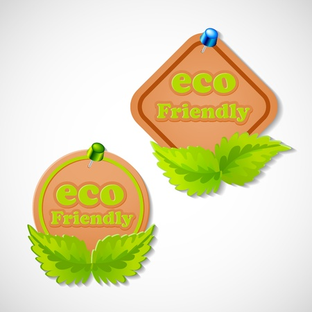 Eco Friendly Tag Stock Vector - 18181353