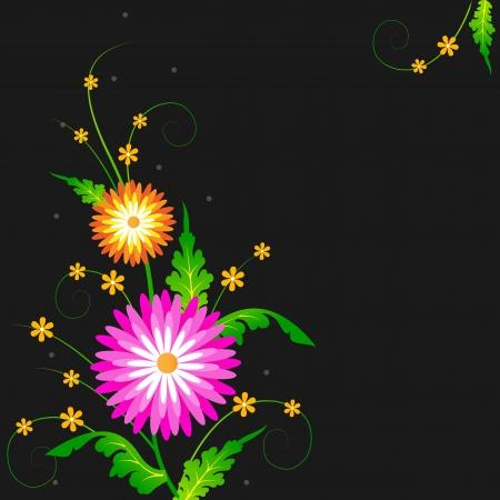 Flower Design Stock Vector - 18212610