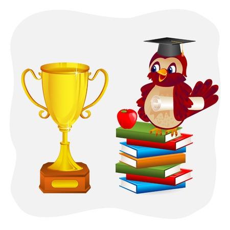 Graduation Stock Vector - 18212706