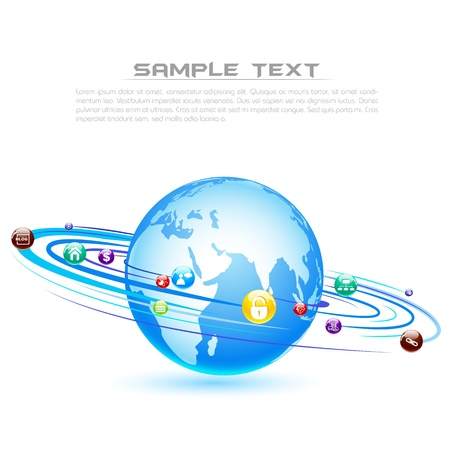 Global Media Stock Vector - 18213302