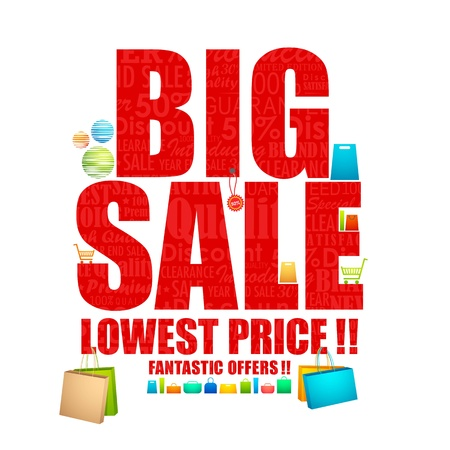 Big Sale Stock Vector - 18213304