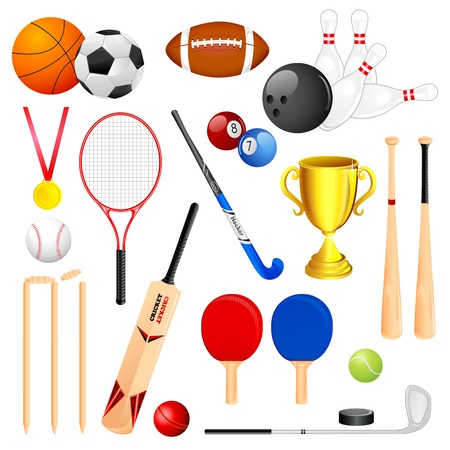 Sports Object Vector
