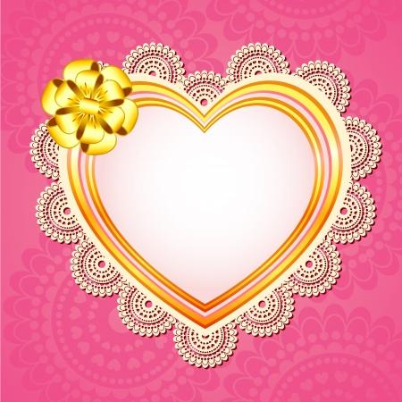 Love Frame Stock Vector - 18519474
