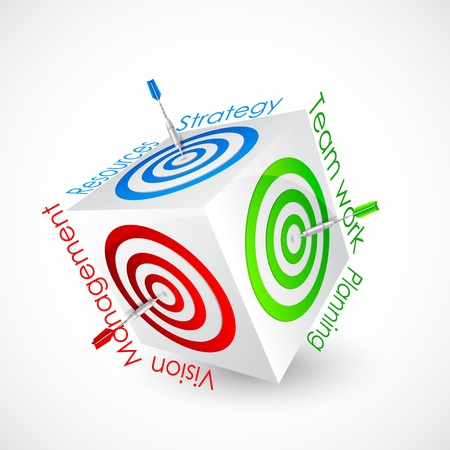Business Target Stock Vector - 18810630