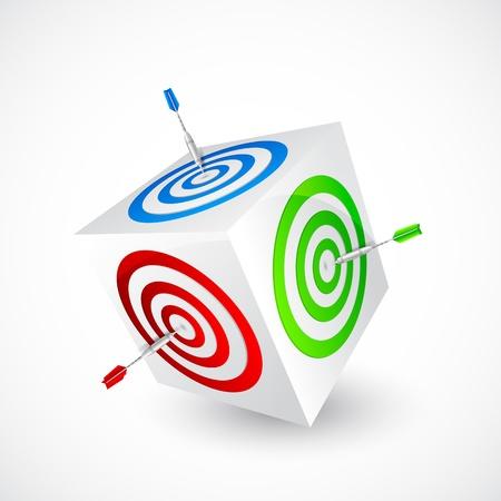 Business Target Stock Vector - 18810643