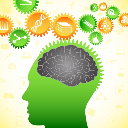 learning process: Thinking Human Brain