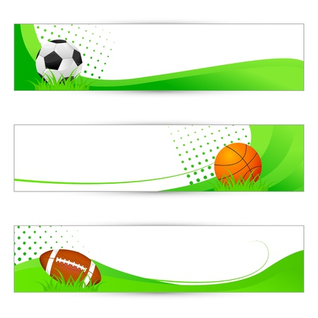 Sports Banner Stock Vector - 18810764