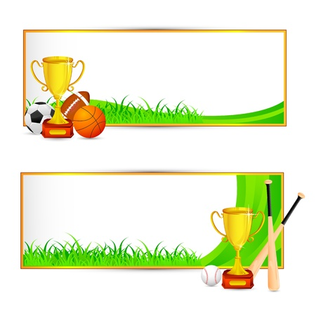 soccerball: Sports Banner