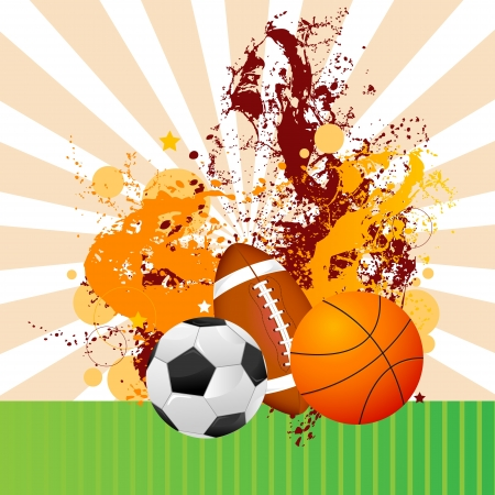 Sports Ball Stock Vector - 18810809