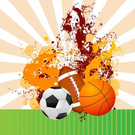 Sports Ball Stock Vector - 18810809