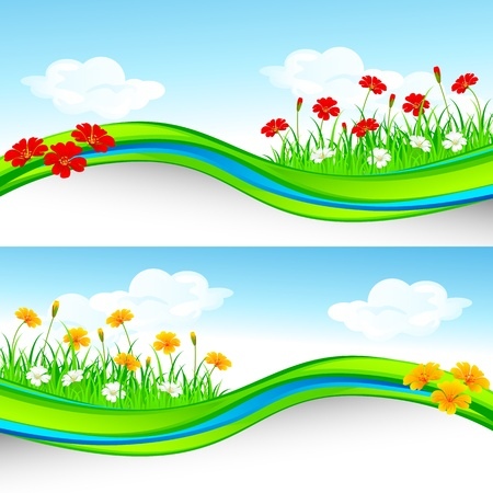 Flower Garden Stock Vector - 19001919
