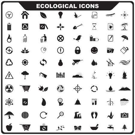 Ecological Icon Stock Vector - 19372674