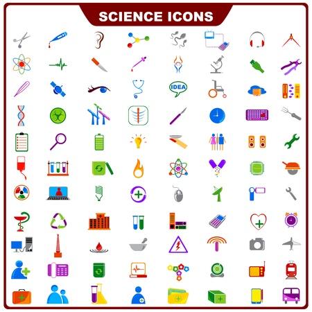 sustancias toxicas: Colorful Icono Ciencias