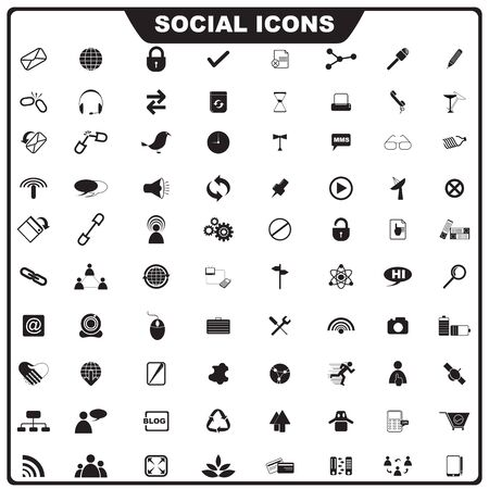Social Icon Stock Photo - 19372686