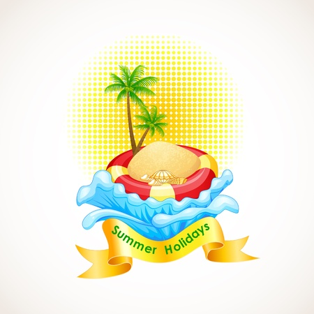 Summer Holiday Stock Vector - 19658926