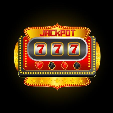 tragamonedas: Casino Slot Machine Foto de archivo