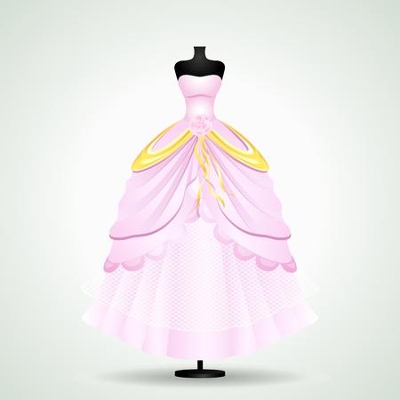 Wedding Gown Stock Vector - 19658946