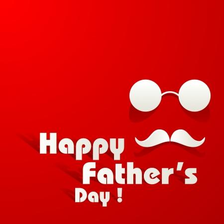 apa: Boldog Apák napja háttere Illusztráció