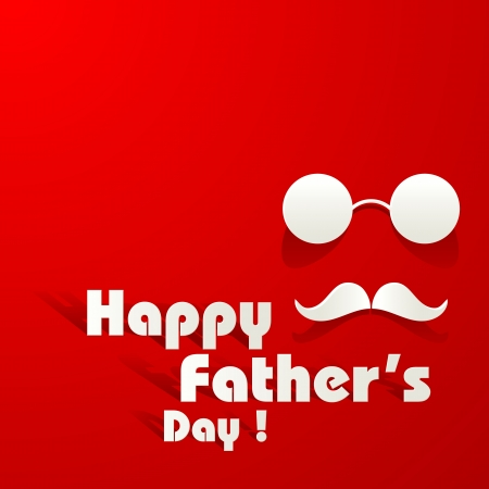 father: Happy Father s Day Background Illustration
