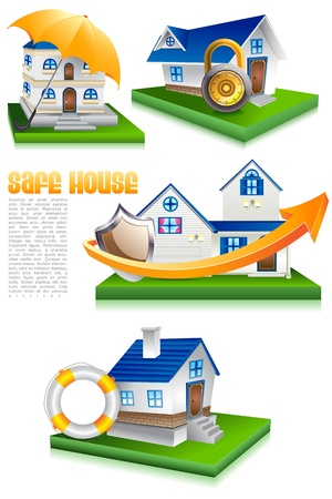 Home Protection Stock Vector - 19868794