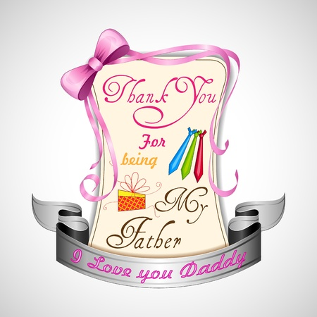 Happy Father s Day Stock Vector - 19869049