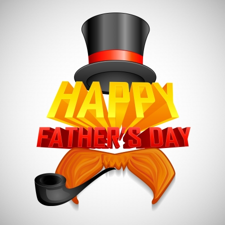 Happy Father s Day Background Stock Vector - 19868757