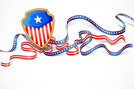 American Flag Background Stock Vector - 20058594
