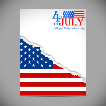 Fourth of July American Independence Day Stock Vector - 20288262