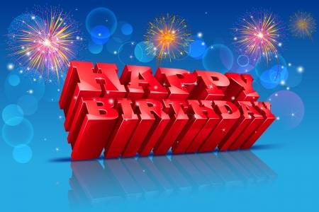 Happy Birthday Stock Vector - 20916025