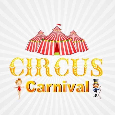Circus Carnival Vector