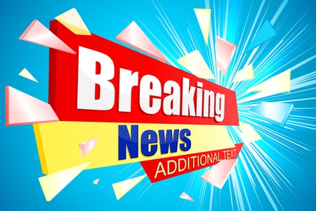 Breaking News Stock Photo - 21086305