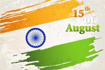 Indian Independence Day Vector