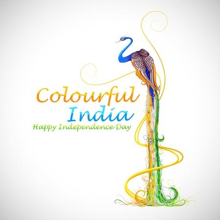 Kleurrijk India Stock Illustratie