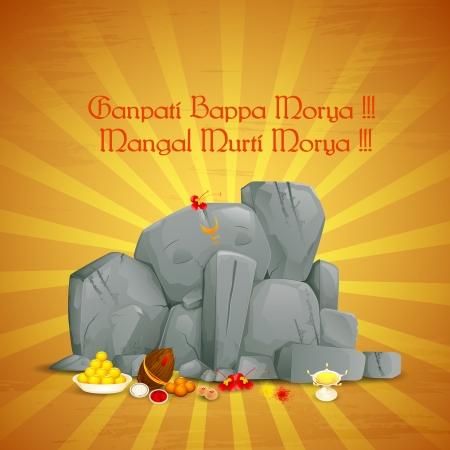 vector illustration of Jai Lord Ganesha Stock Vector - 22724842