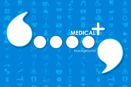 vector illustration of Healthcare and Medical template illustration