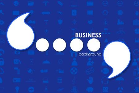 vector illustration of Business Template illustration