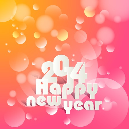vector illustration of Happy New Year illustration