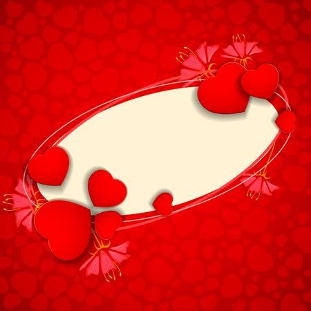 vector illustration of I Love You Valentine Background illustration