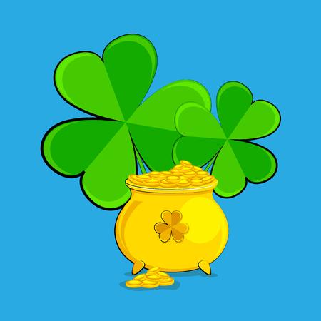 vector illustration of Saint Patrick's Day design Stock Vector - 26566162