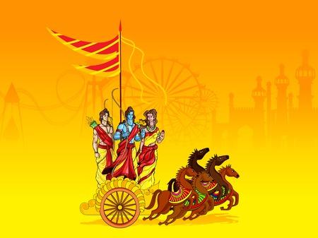 rama: Lord Rama,Laxmana and Sita