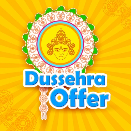 Dussehra Offer with goddess Durga