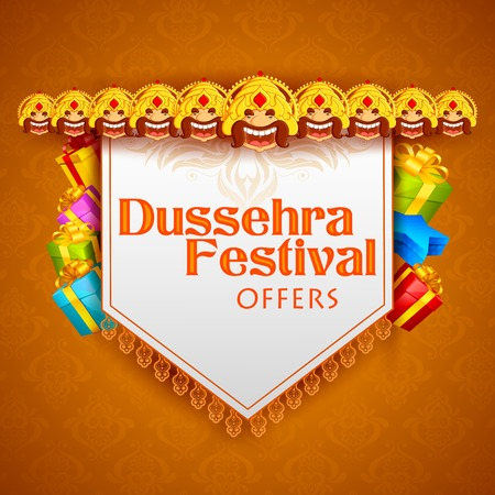 indian festival: Ravana for Dussehra Festival Offer