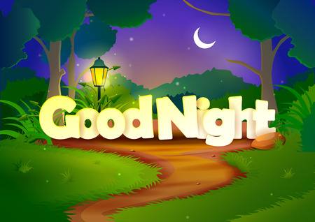 sky night star: Good Night wallpaper background