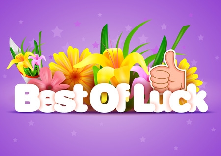 regards: Best of Luck wallpaper background