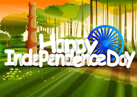 Happy Independence Day of India wallpaper background